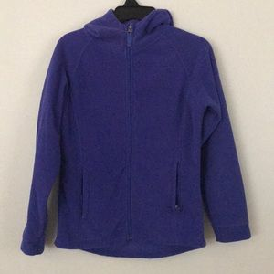 AVALANCHE- purple fleece jacket